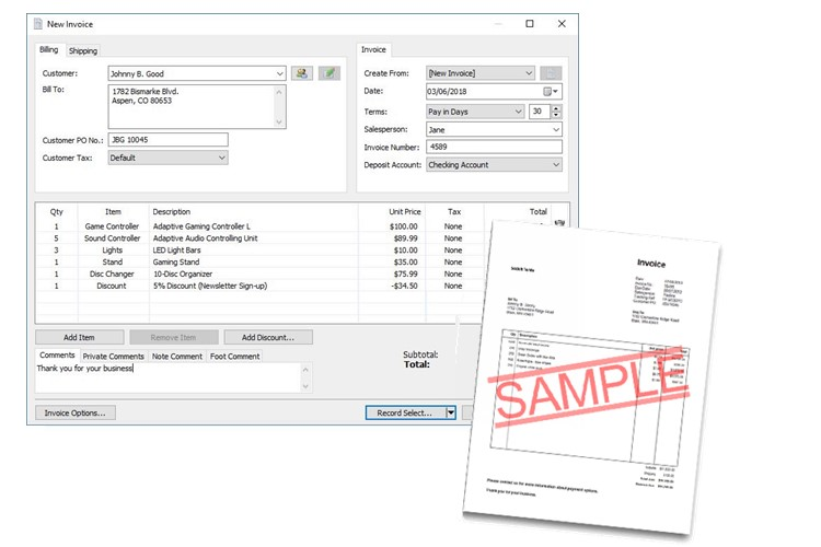 Express Accounts Bookkeeping & Accounting Software Screenshots