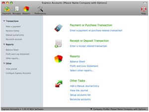 Express Accounts Free for Mac 5.23