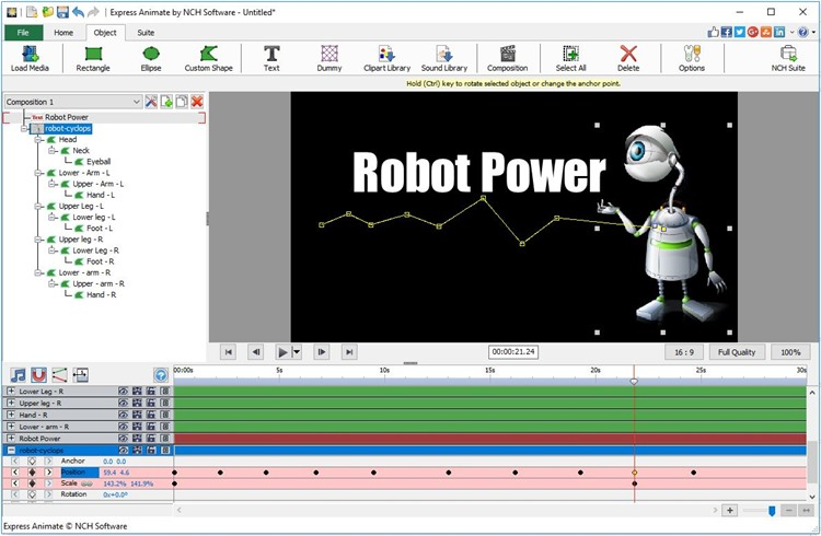 Express Animate Animation Free Freeware