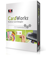 Design create print business cards free with cardworks download free business cards software reheart Image collections