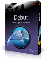 Screen recording, webcam recorder and streaming video capture software.