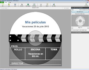 etiquetas dvd
