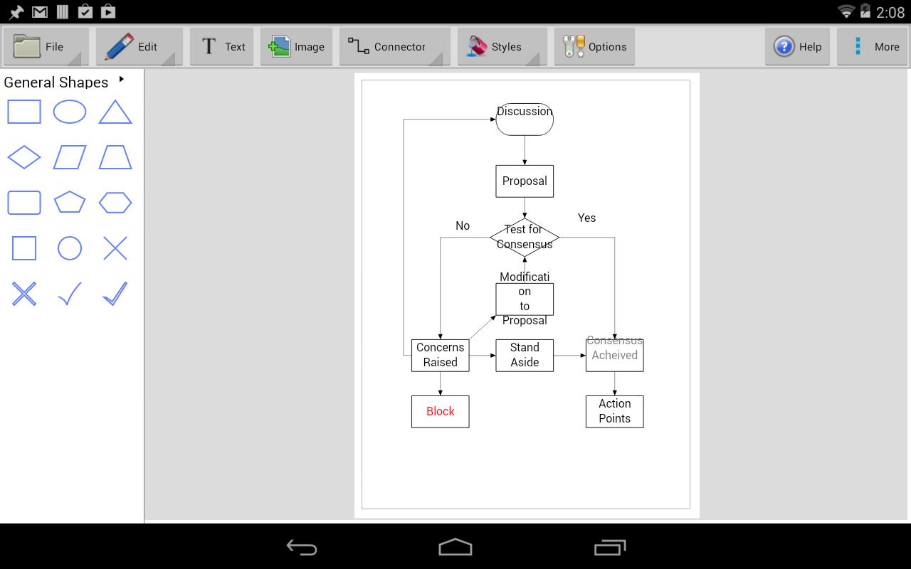 ClickCharts Diagram and Flowchart Maker Screenshots