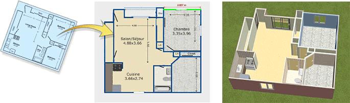 Logiciel Plan De Maison Gratuit Facile En 3d Maison Et Jardin