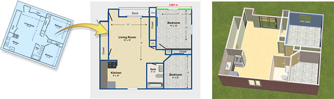 Download Home Design Software Free  3D House Plan and Landscape