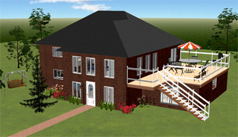 Home Design Software 3D House and Landscape Design