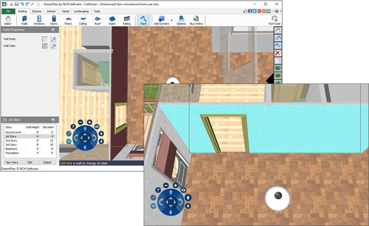 DreamPlan Home Design & Landscape Planning Software Screenshots