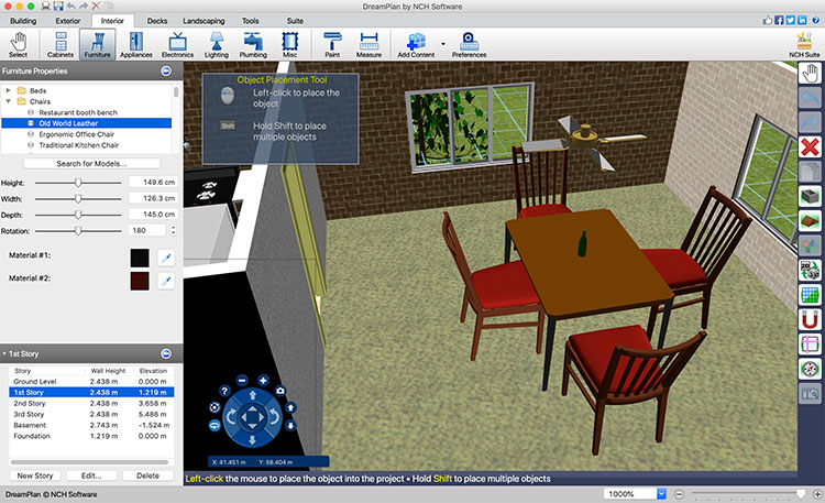 DreamPlan Home Design Software Free for Mac 4.05