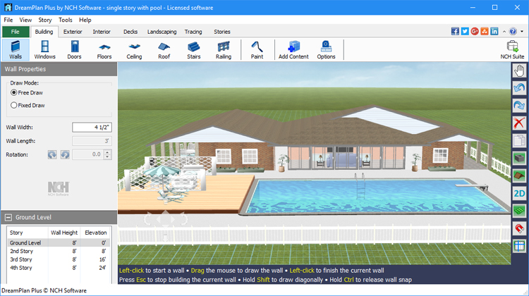 DreamPlan Home Design & Landscape Planning Software ...