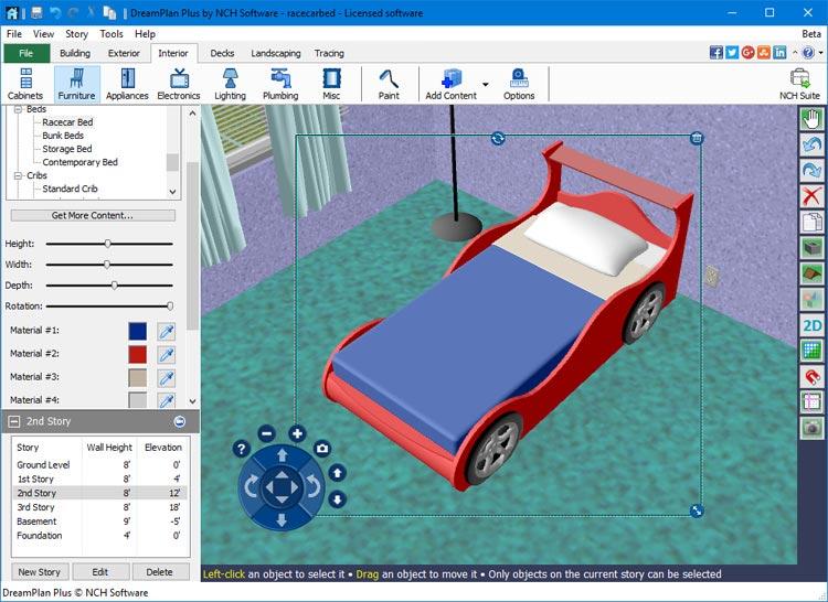 Dreamplan home design landscape planning software for Icf home design software