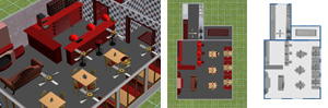 Free Download. Restaurant Front of House and Kitchen Design.