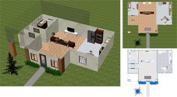 DreamPlan Free Home and Landscape Planning and Design Software for Windows recent Screen Shot