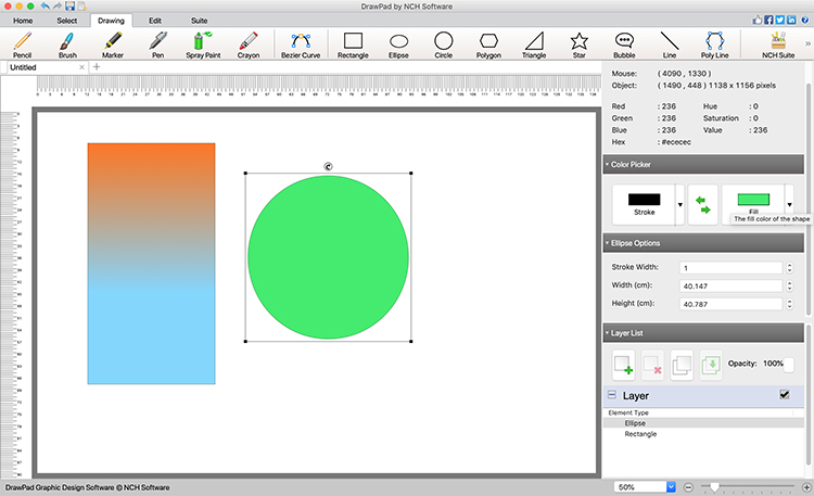 DrawPad Plus for Mac Screenshot