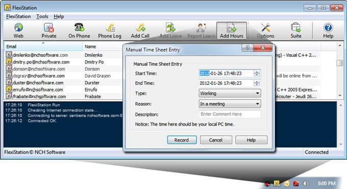 Download FlexiStation Employee Client, Productivity