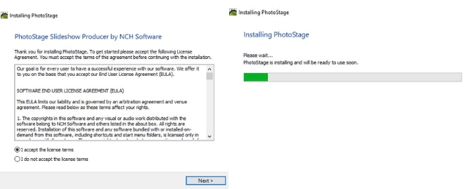 Image displaying how to download PhotoStage Slideshow Maker