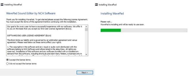 Image displaying how to download WavePad Audio Editor
