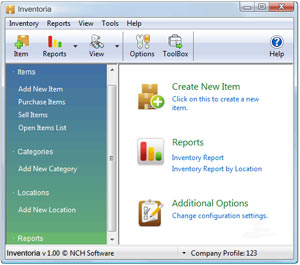 Inventoria Stock Control And Inventory Software Screenshots
