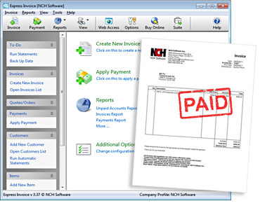 Download billing and invoice software