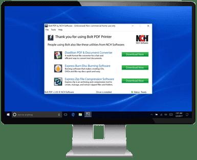 Free PDF Printer Software - Print Documents Directly to PDF