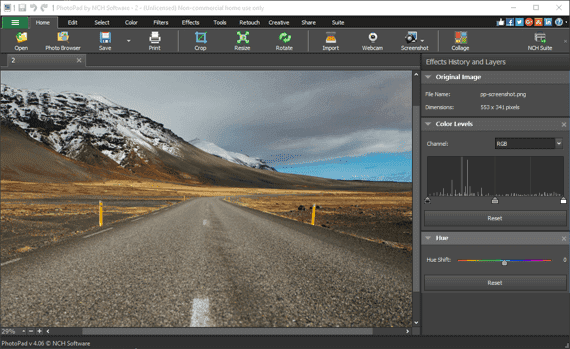 Photo Editor Software To Easily Edit Digital Images Free Download