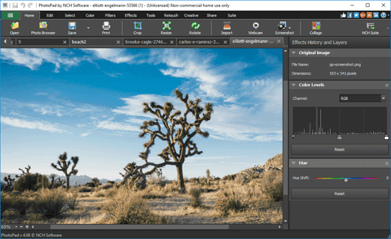 Photo Editor Software to Easily Edit Digital Images  Free