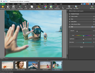 Download PhotoPad Digital Photo Editing Software