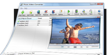 Converting video files made easy