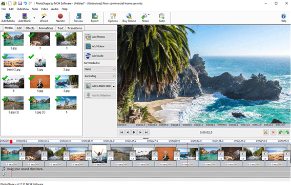 PhotoStage Photo Slideshow Software Free 5.21