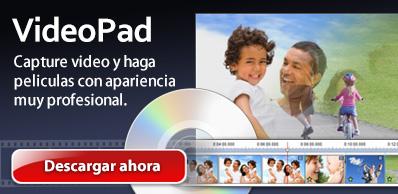 Descargar VideoPad, editor de vídeo