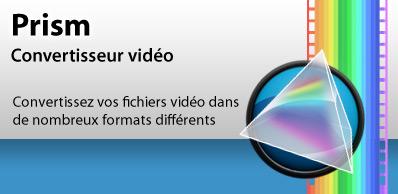 Télécharger Prism Convertisseur de fichiers vidéo