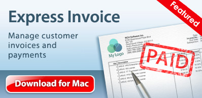 Descargar Express Invoice software de facturación para Mac