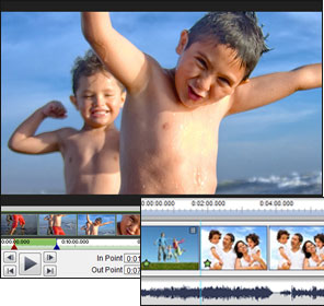 Screenshots of VideoPad Free Video Editing Software