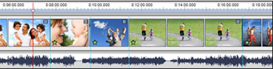 VideoPad Free Video Editing Software Timeline