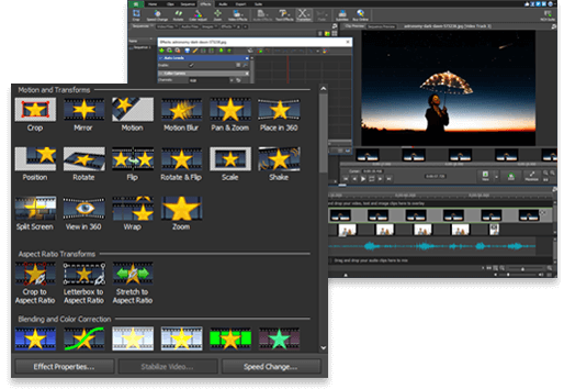 Video Editing Software  Free Download  Easy Movie Editor