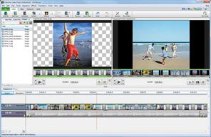 Bild von NCH Videoschnitsoftware