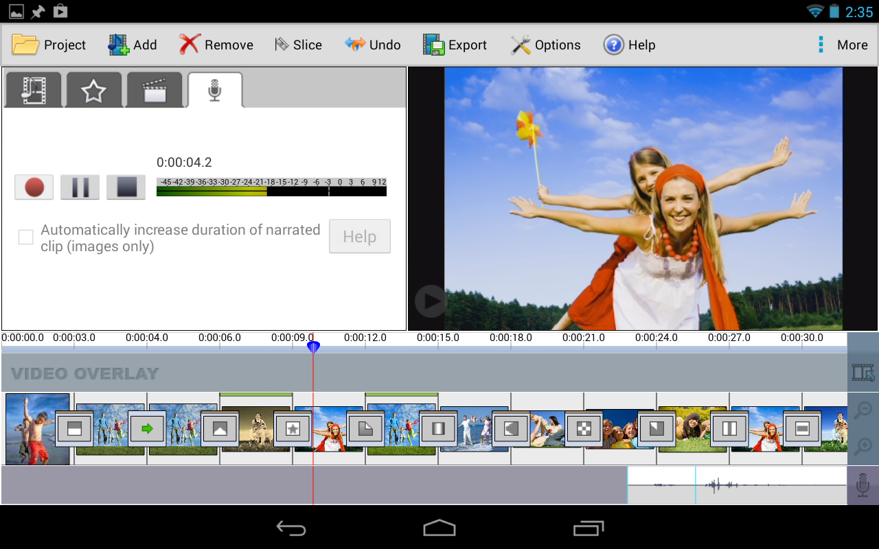 VideoPad Video Editor for Android Free