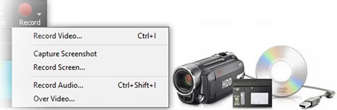 VideoPad supports just about any type of video input device including DV based or HDV camcorders