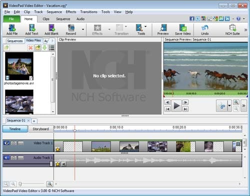 How to create and edit subtitles with videopad your video will now appear on the sequence you are ready to start working with subtitles ccuart Images